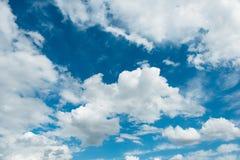 Cloudscape of bright. Blue sky Stock Photo