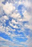 Cloudscape brillante Foto de archivo libre de regalías