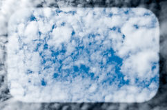 Cloudscape bubble Royalty Free Stock Photography