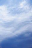 Cloudscape clair de ciel bleu Photos libres de droits