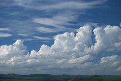 Cloudscape. Clouds horizon landscape nature sky Stock Photo