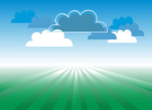 Cloudscape Royalty Free Stock Image