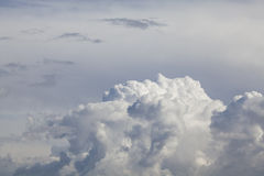 Cloudscape with copyspace Stock Photos