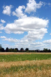 Cloudscape in countryside Stock Photography