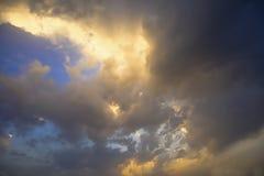 cloudscape D'isolement photo libre de droits