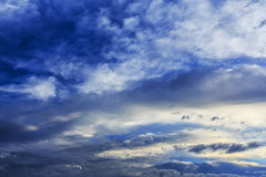 Cloudscape da tempestade Fotografia de Stock
