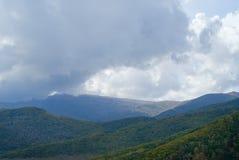 Cloudscape dans le taiga 10 Photo libre de droits