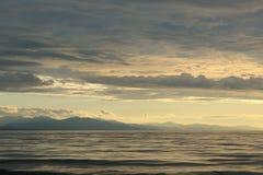 Cloudscape de Baikal Imagens de Stock