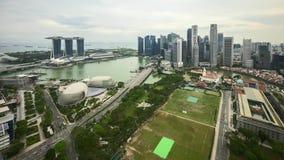 Cloudscape de Marina Bay Singapore metrajes