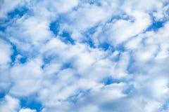 cloudscape De verschillende grootte van Nice van wolken royalty-vrije stock afbeelding
