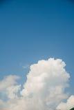 Cloudscape di luminoso Fotografie Stock Libere da Diritti