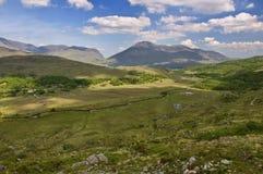 Cloudscape di paesaggio della montagna Fotografia Stock Libera da Diritti