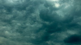 Cloudscape di Strom stock footage