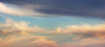 Cloudscape di Whispy Fotografia Stock