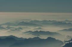 "Cloudscape do †da nuvem de Corfu "" Imagem de Stock"
