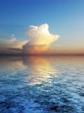 Cloudscape do mistério Fotografia de Stock