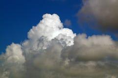 Cloudscape drammatico Fotografie Stock
