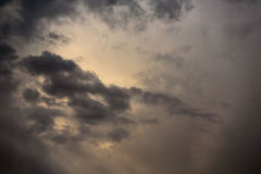 Cloudscape at dusk Royalty Free Stock Image
