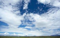 Cloudscape em Islândia Fotos de Stock