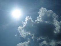 Cloudscape en zonlicht Stock Fotografie