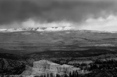 Cloudscape et vue scénique de point de Yovimpa Images stock