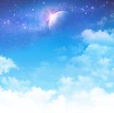 Cloudscape fantasi Fotografering för Bildbyråer