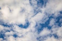 Cloudscape fantastico Struttura nuvolosa fotografia stock libera da diritti