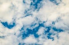 Cloudscape fantastico Struttura nuvolosa fotografie stock
