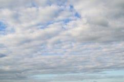 Cloudscape fantastico Struttura nuvolosa immagini stock
