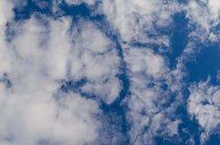 Cloudscape fantastico Struttura nuvolosa immagini stock libere da diritti