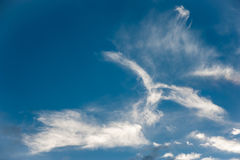 Cloudscape, formazione interessante della nuvola Fotografie Stock Libere da Diritti