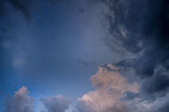 Cloudscape Royalty Free Stock Photos