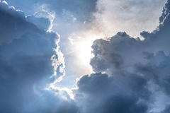 Cloudscape. Has been developing in gorgeous form Royalty Free Stock Images