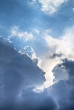 Cloudscape. Has been developing in gorgeous form Royalty Free Stock Photos