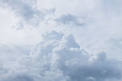 Cloudscape. Has been developing in gorgeous form Royalty Free Stock Photo