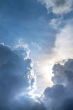 Cloudscape. Has been developing in gorgeous form Stock Photo