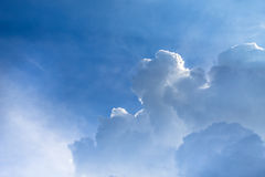 Cloudscape. Has been developing in gorgeous form Stock Photos