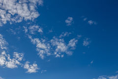 Cloudscape. Has been developing in gorgeous form Stock Image