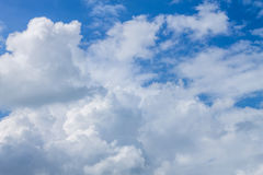 Cloudscape. Has been developing in gorgeous form Stock Photography