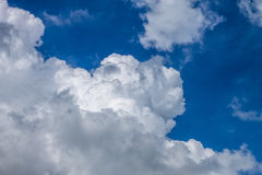 Cloudscape. Has been developing in gorgeous form Stock Images