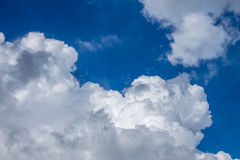 Cloudscape. Has been developing in gorgeous form Royalty Free Stock Image