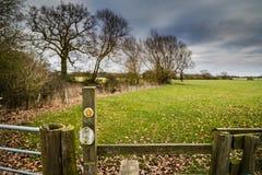 Cloudscape in het platteland royalty-vrije stock fotografie