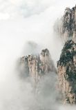 Cloudscape image of  Huangshan Royalty Free Stock Photos