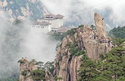 Cloudscape image of  Huangshan Royalty Free Stock Photography
