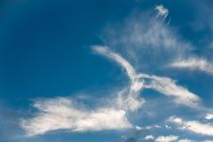 Cloudscape, interessante Wolkenbildung Lizenzfreie Stockfotos