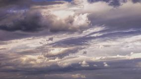 Cloudscape. Isolated royalty free stock image