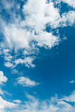Cloudscape jaskrawy Obraz Royalty Free