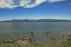 cloudscape jezioro Zdjęcia Royalty Free