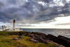 cloudscape latarnia morska Zdjęcia Royalty Free