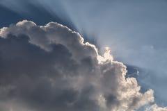 Cloudscape_light imagens de stock